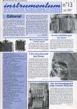 Bulletin N°13 – Juin 2001