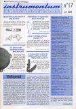 Bulletin N°17 – Juin 2003