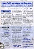 Bulletin N°29 – Juin 2009