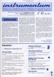 Bulletin N°42 – Dec. 2015