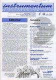 Bulletin N°44- Déc. 2016