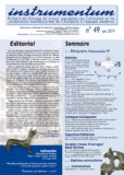 Tout Bulletin Instrumentum / Instrumentum's Bulletin