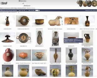 Catalogue des Médailles et Antiques de la BNF